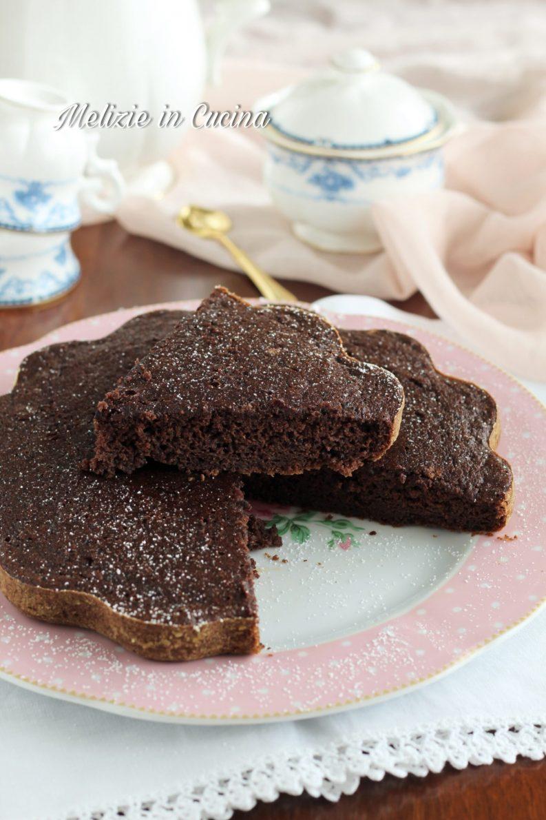 torta di zucca al cacao amaro