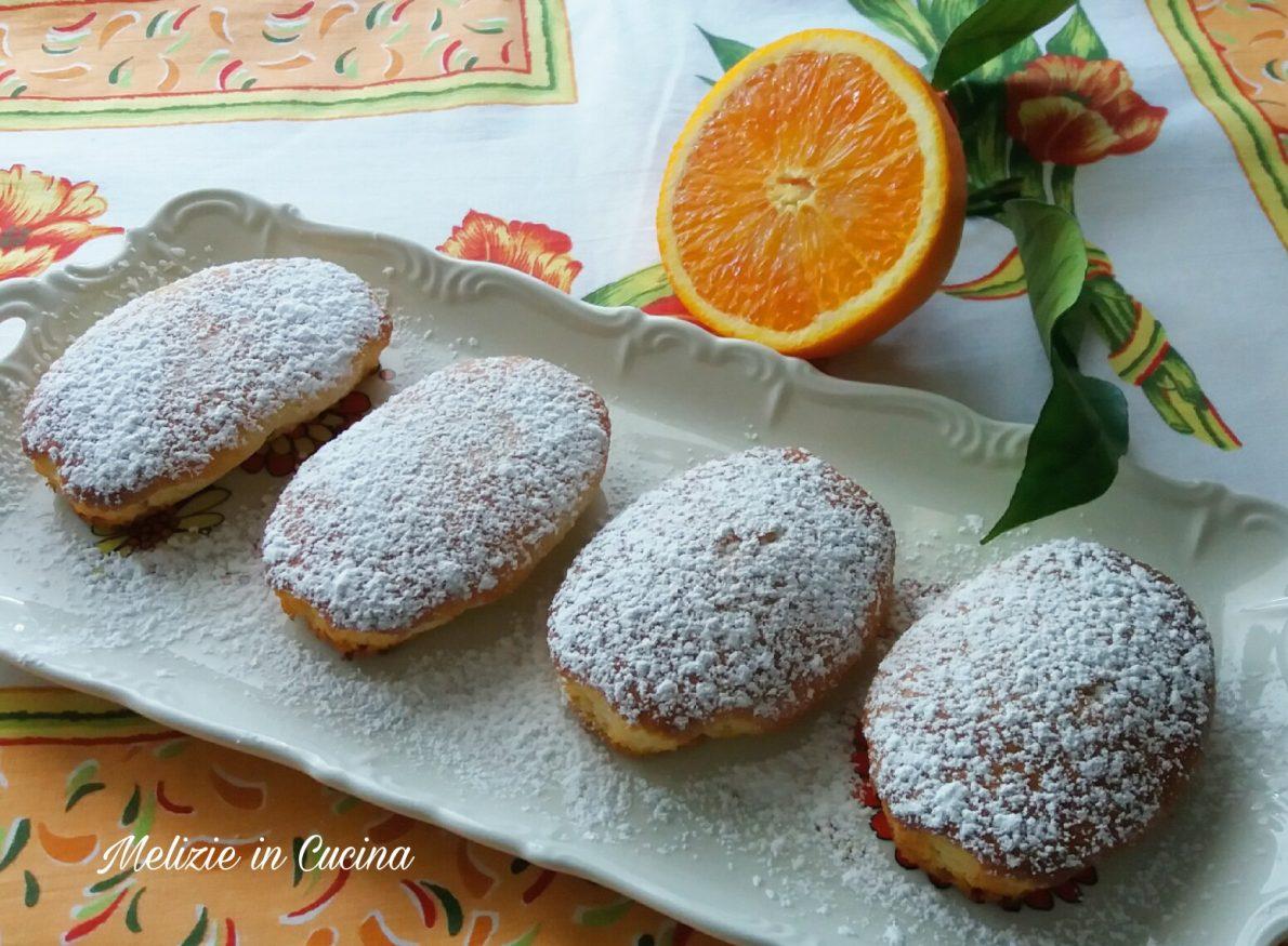 Mini Plumcake all'arancia