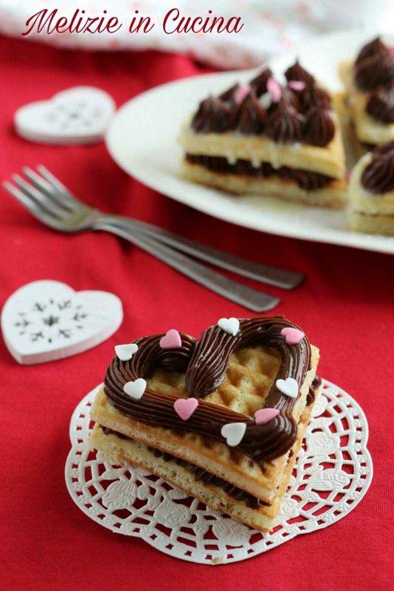 Waffle Dolci alla Crema Ciocco-Caffè