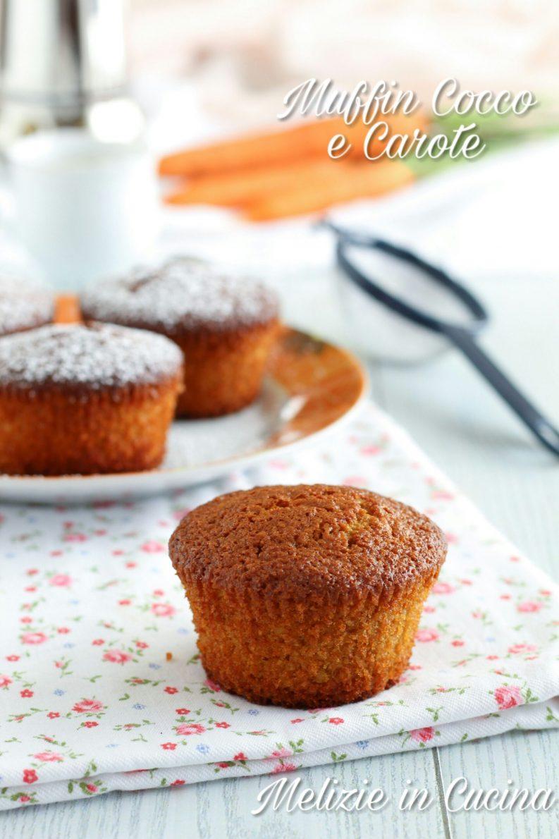 Muffin Cocco e Carote