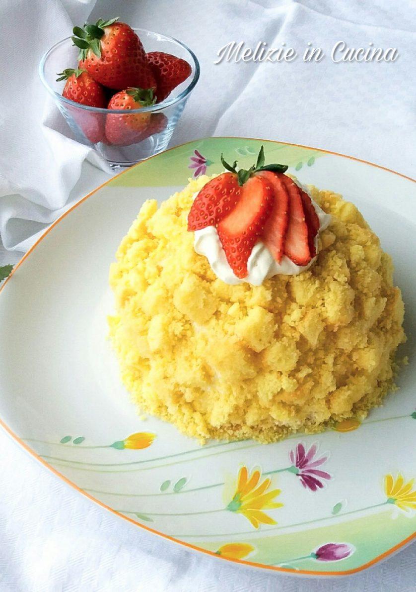 Zuccotto di Torta Mimosa