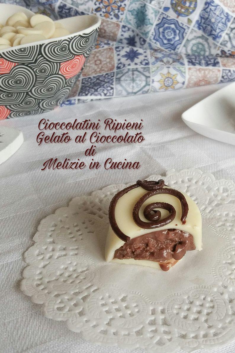 Cioccolatini ripieni di gelato