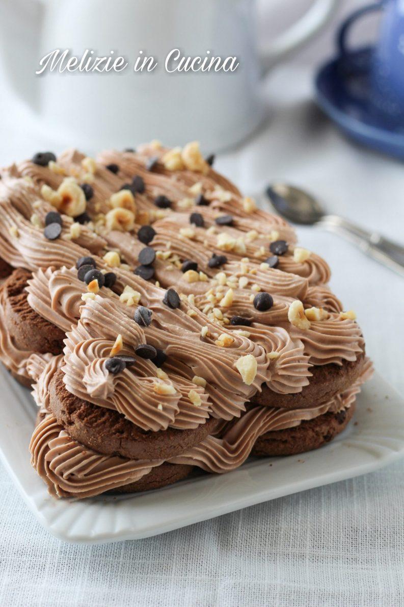 torta di biscotti in 5 minuti