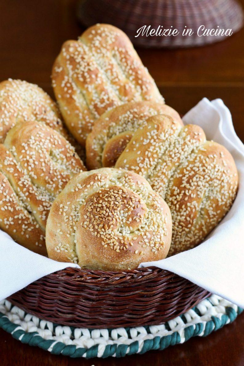 Pane siciliano fatto in casa