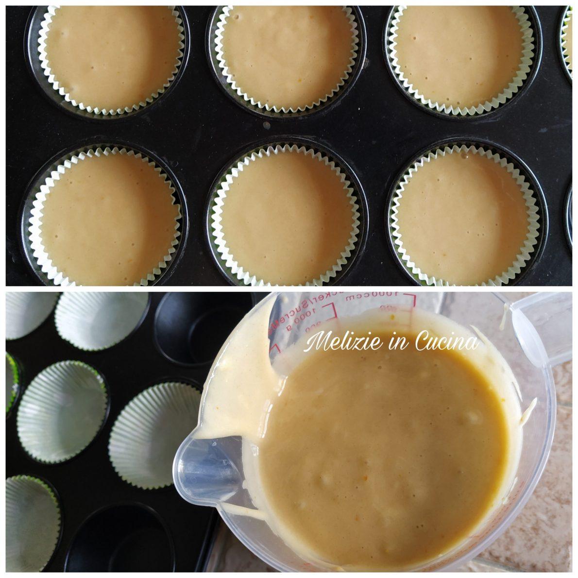 Tortine all'arancia senza latte e burro