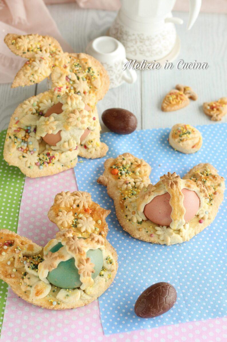 biscotti pasquali aceddi cù l'ovu