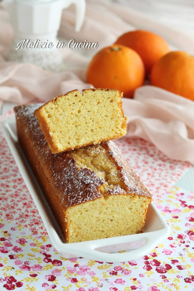 plumcake arancia e limone semplicissimo